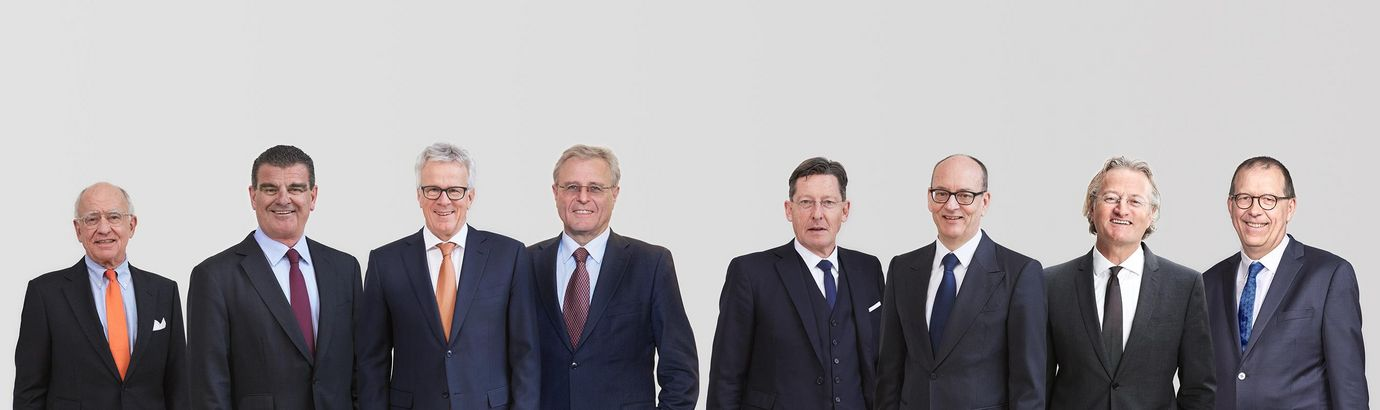 Group picture of the Rieter Board of Directors