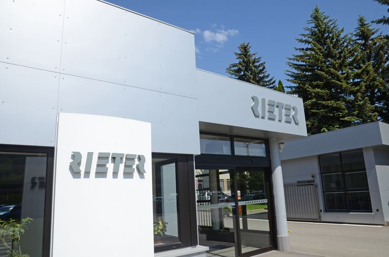 Entrance of Rieter CZ s.r.o., Czech Republic