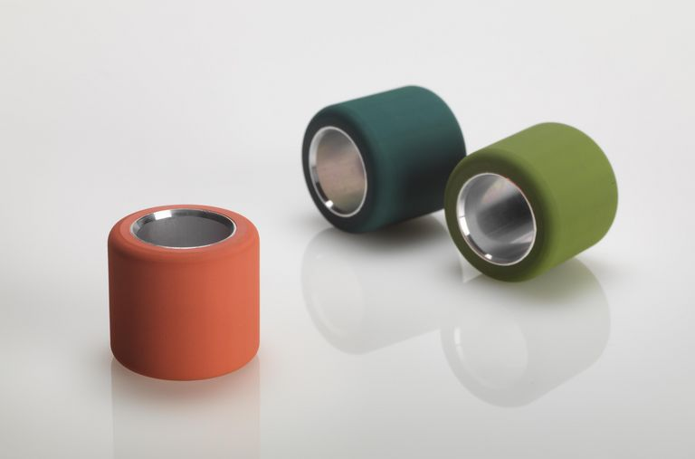 BERKOL® top rollers in three different colours