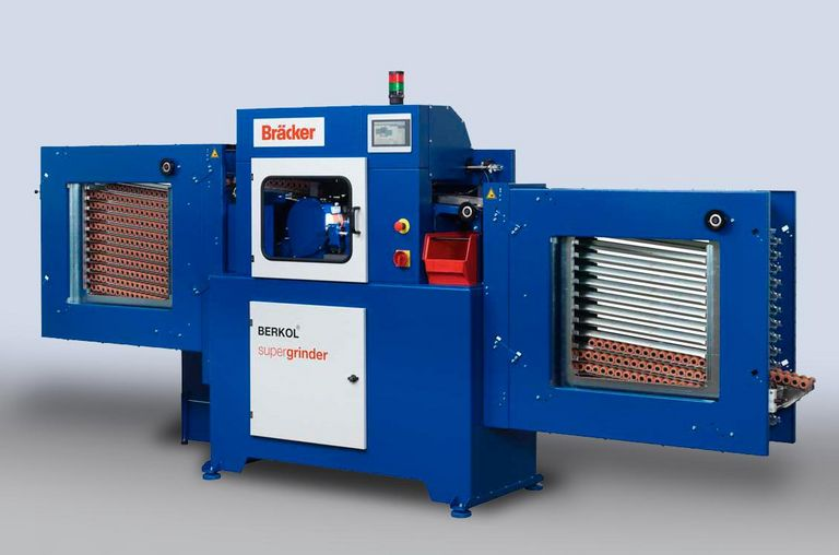 BERKOL supergrinder on blue background