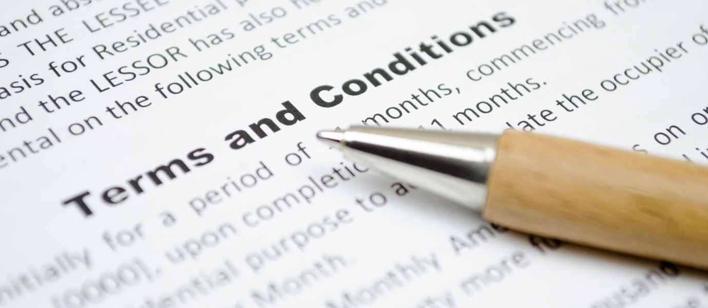Terms and Conditions: Rieter