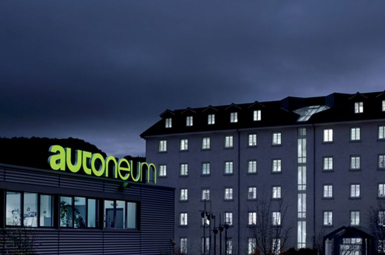Building of Autoneum in Winterthur, Switzerland