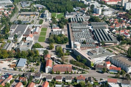 Air view at the Rieter Ingolstadt location