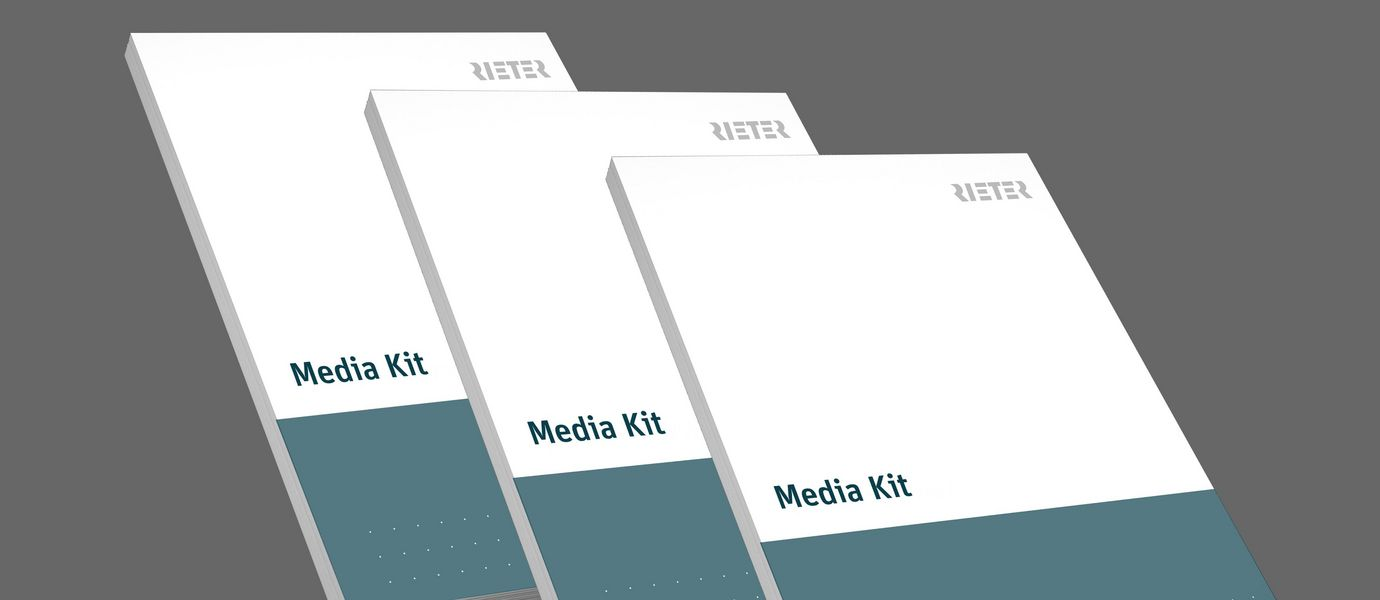 Three Media Kits with the latest Rieter news